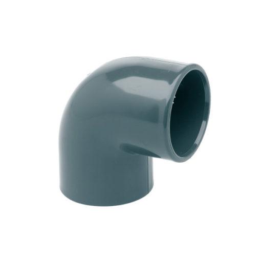 Codo PVC 90 encolar hembra hembra