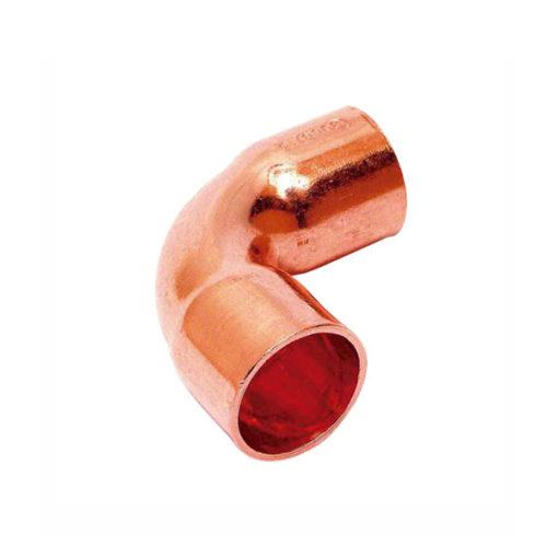 Curva 90 cobre soldar hembra hembra