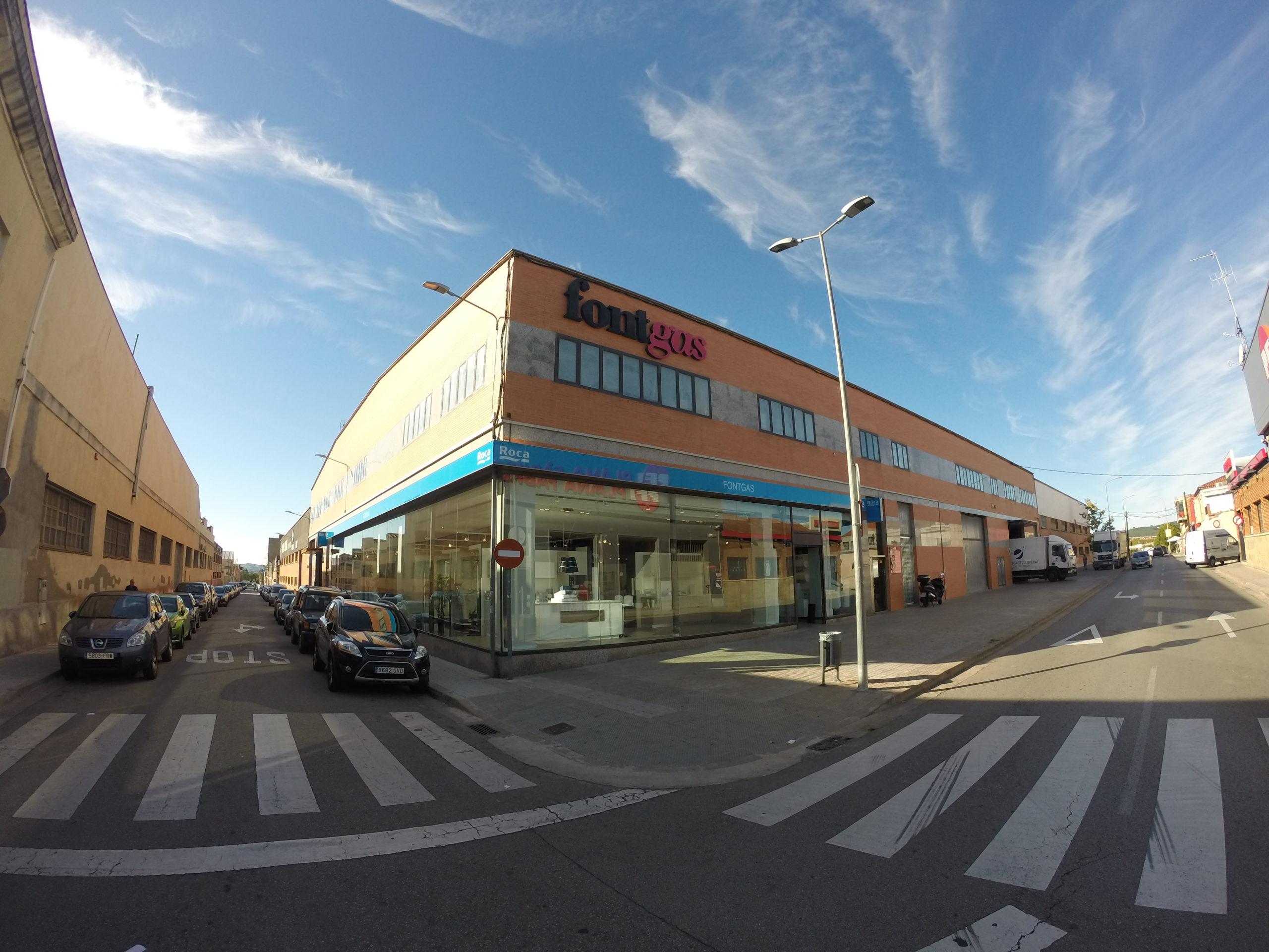 Fontgas Sabadell - Entrada principal