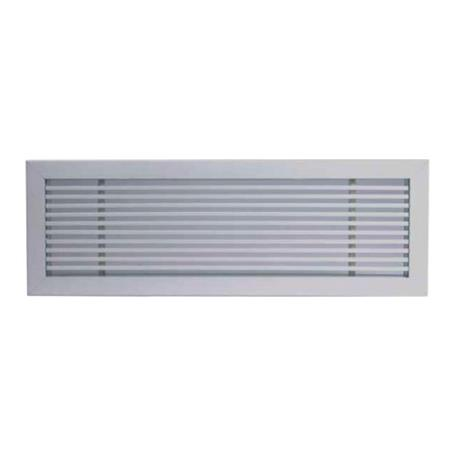 rejilla de lama lineal fija 0º aluminio 400x300 2206RL4030 SPL