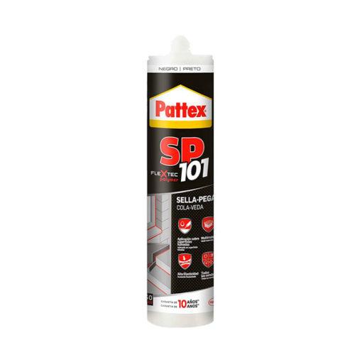 Adhesivo sellador negro Pattex SP101 2378880