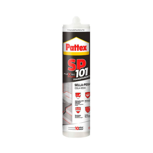 Adhesivo sellador transparente Pattex SP101 2378880