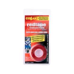 Cinta adhesiva roja doble cara Collak 783015BL