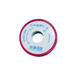 Rollo cinta PTFE 50 metros Cabel 8458