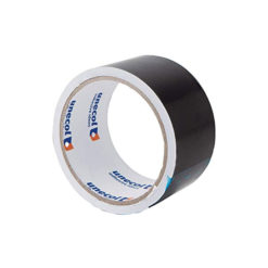 Rollo cinta adhesiva negra 50x50 Unecol 8482