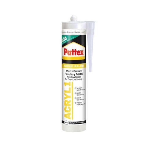 Sellador acrílico blanco Pattex Acryl 1 1536078