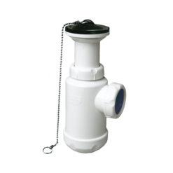 Sifón botella extensible Jimten S-135 con válvula
