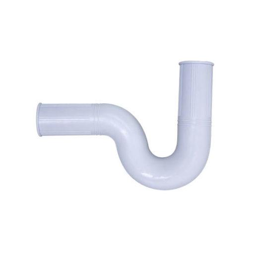 Sifón flexible abierto goma