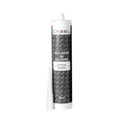 Silicona multiusos blanca Cabel 8563