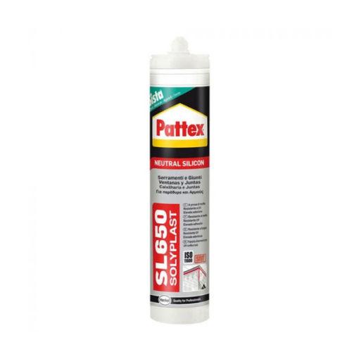 Silicona neutra gris Pattex SL 650 1533277