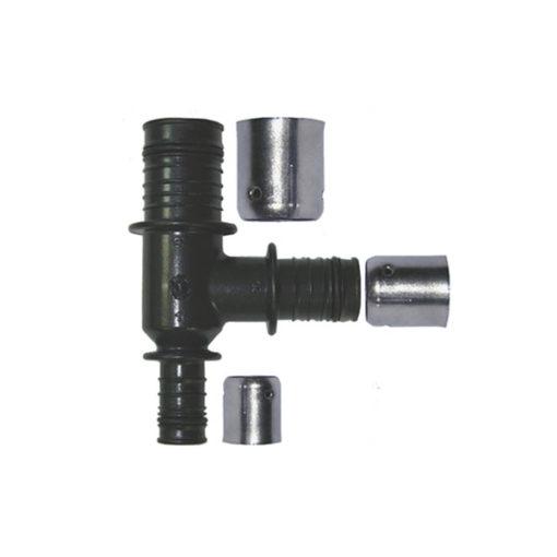 Te reducida PPSU-inox Cabel press-fitting Hembra