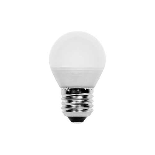 prilux lampara esferica led 5w e27 3000k 648042654