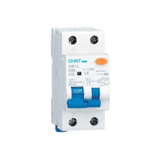 Interruptor diferencial combinado Chint NB1L-1N-10C30A/2