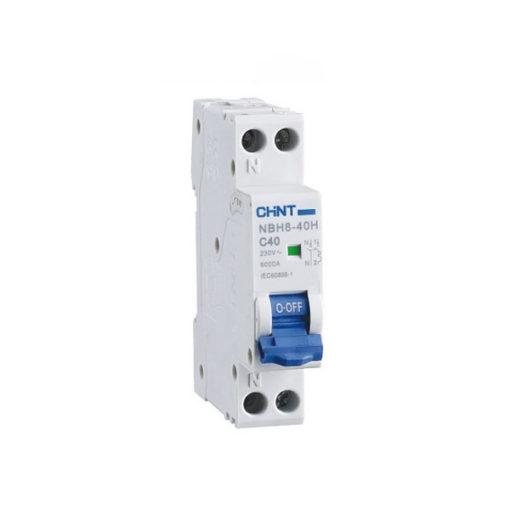 Interruptor automático magnetotérmico Chint NBH8-1N-6C4.5
