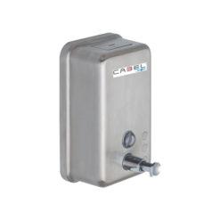 Dosificador de jabón Cabel inoxidable satinado 03001.CABEL.S