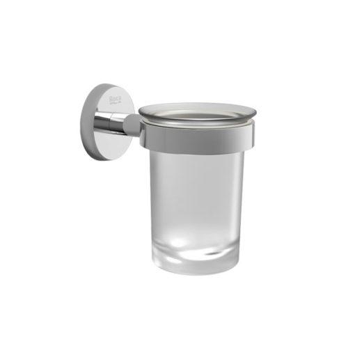 Portavaso y vaso Roca Twin A816705001