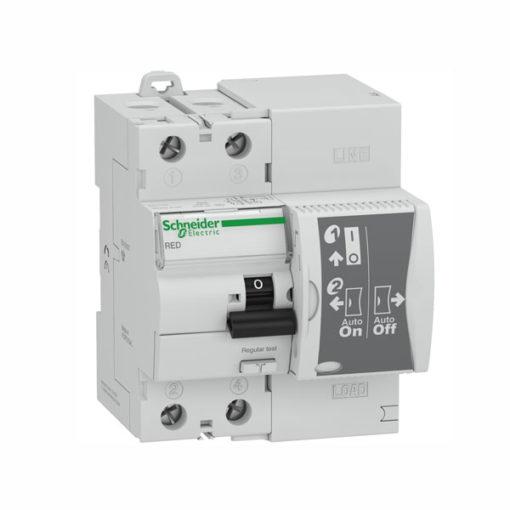 Schneider interruptor diferencial rearmable 2P