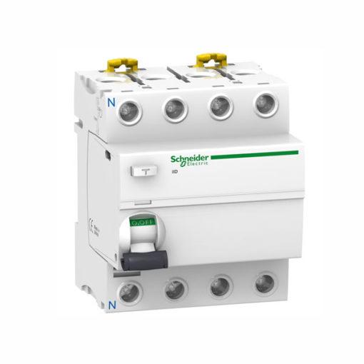 Schneider-interruptor-diferencial-terciario-4P