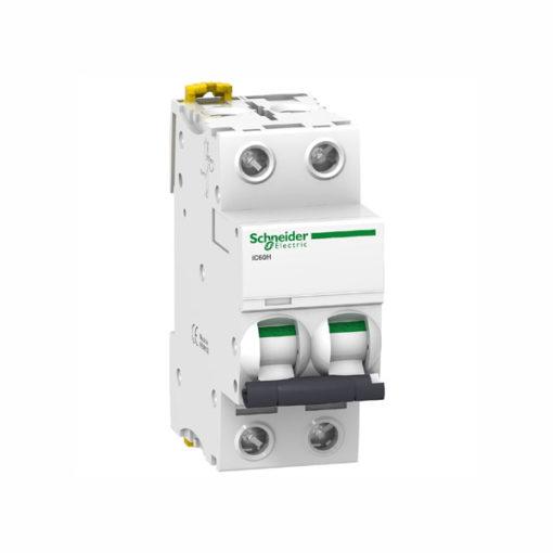 Schneider magnetotermico industrial 10000A curva D 2P