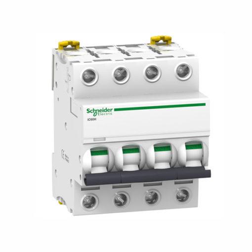 Schneider-magnetotermico-industrial-10000A-curva-D-4P