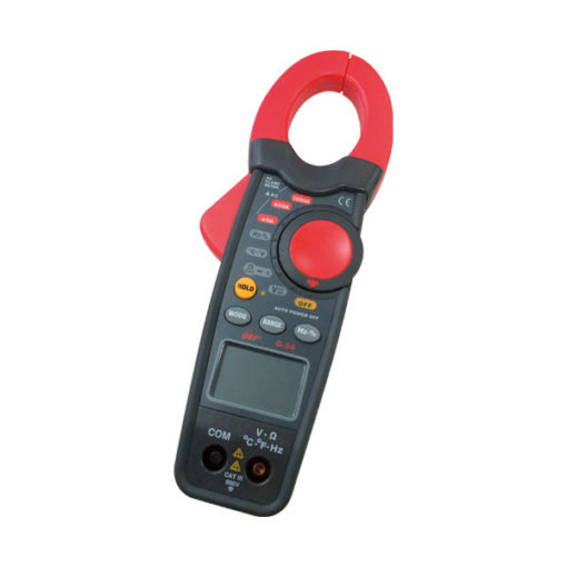 gef pinza amperimétrica c temperatura1000aca g34 668000323