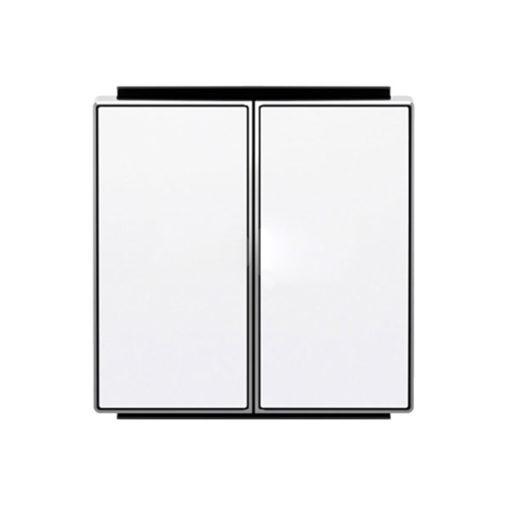 Niessen-Sky-Tecla-doble-interruptor-conmutador-blanco