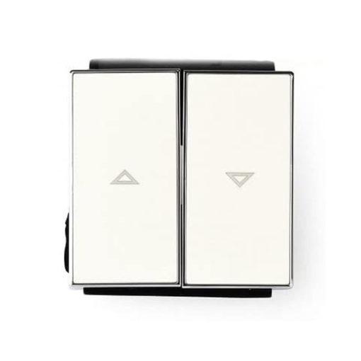 Niessen-Sky-Tecla-doble-interruptor-persianas-blanco