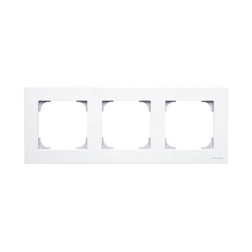 Niessen-Sky-marco-3-elementos-blanco