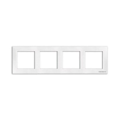 Niessen-Sky-marco-4-elementos-blanco