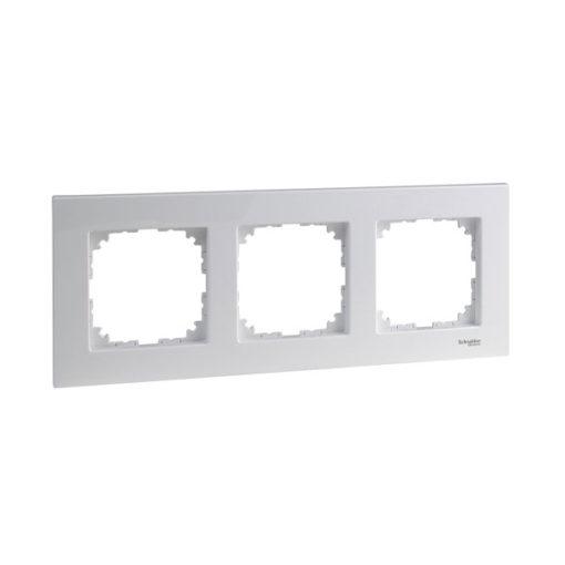 Schneider-elegance-marco-3-elementos-blanco