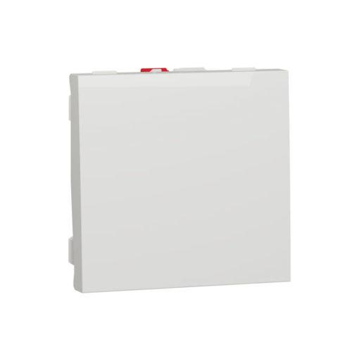 Schneider-new-unica-interruptor-con-bastidor-blanco-10AX-250V