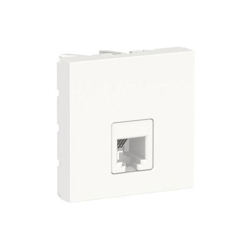 Schneider-new-unica-toma-telefono-blanco