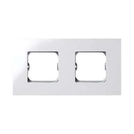 Simon 27 marco compacto 2 elementos blanco