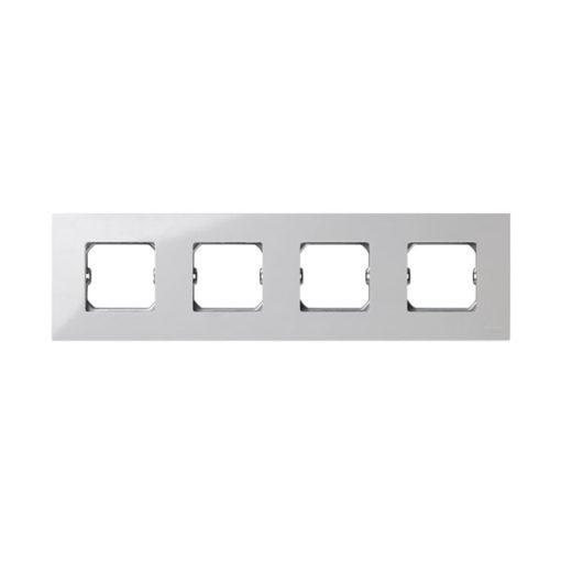 Simon 27 marco compacto 4 elementos blanco