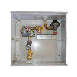 Armario de regulación de gas Standard Hidráulica A6